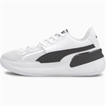 PUMA Clyde Hardwood (GS) - White/Black