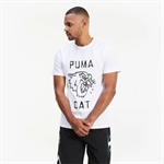 PUMA Franchise Graphic T-Shirt - White