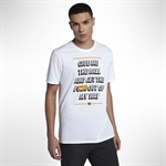 Nike Dry LeBron 'Give Me The Ball' T-Shirt - White