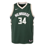 Nike Milwaukee Bucks Icon Swingman NBA Jersey - Giannis Antetokounmpo | BARN