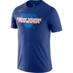 Nike Dri-FIT NBA Mantra T-Shirt - New York Knicks
