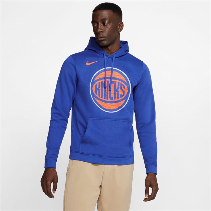 Nike Logo NBA P/O Hoodie - New York Knicks
