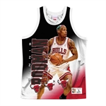 Mitchell & Ness NBA Behind The Back Tanktop - Dennis Rodman